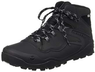 Merrell Men's Overlook 6 Ice+ Waterproof High Rise Hiking Boots, Black (Black), 42 EU