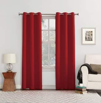 Sun Zero 48057 Easton Blackout Energy Efficient Grommet Curtain Panel