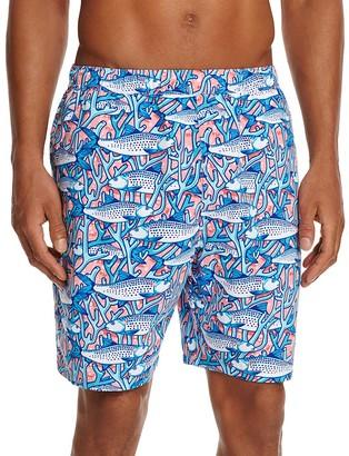 Vineyard Vines Bonefish Coral Bungalow Swim Trunks $89.50 thestylecure.com