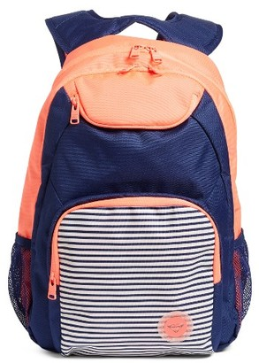 Roxy Shadow Swell Backpack - Orange $44 thestylecure.com