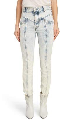b8dcde0c945 Isabel Marant Lorricka  80s High Waist Straight Leg Jeans