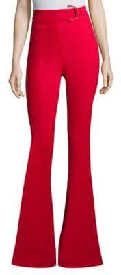 Cushnie High-Waist Flare Pants
