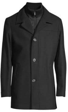 HUGO Regular-Fit Bareleto Classic Trench Coat