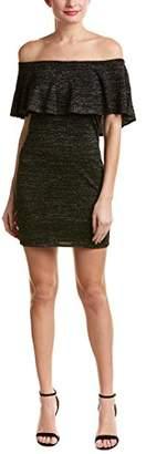 Trina Turk Trina Women's Sheen Off Shoulder Sweater Dress