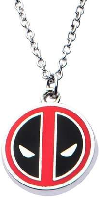 Marvel Deadpool Small Logo Pendant Stainless Steel Necklace