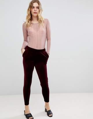 Ichi Velvet Trousers