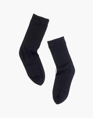 Madewell Swedish Stockings Emma Leopard Socks