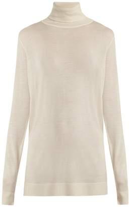 Raey Roll-neck fine-knit cashmere sweater