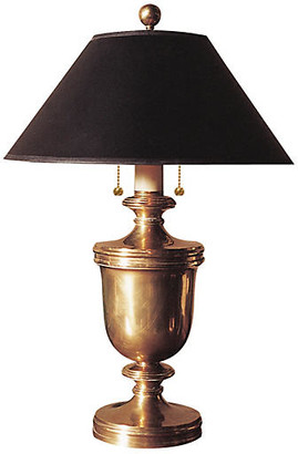 Visual Comfort & Co. Urn Table Lamp - Brass/Black