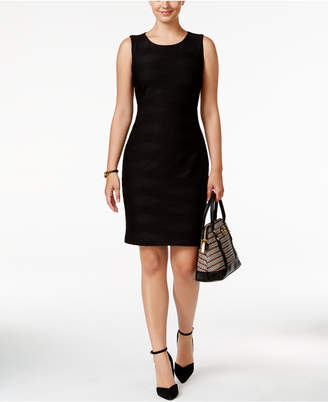Tommy Hilfiger Textured Sheath Dress, A Macy's Exclusive Style $129 thestylecure.com