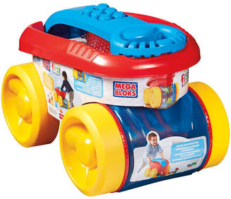 Fisher-Price First Builders Block Scooping Wagon- 20 Piece