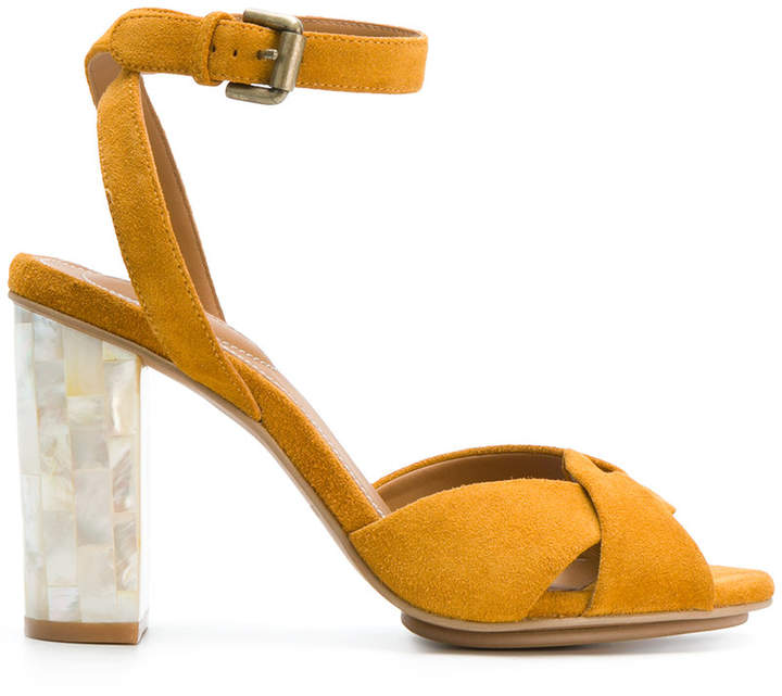 See By Chloé braided pumps with embellished heel