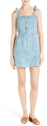 Women's La Vie Rebecca Taylor Denim Dress $295 thestylecure.com