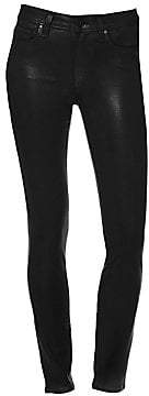 Paige Women's Hoxton High-Rise Coated Ankle Skinny Jeans