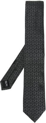 Salvatore Ferragamo ring print tie