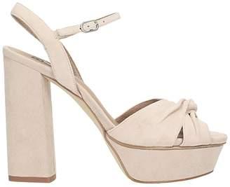 Bibi Lou Beige Suede Sandals