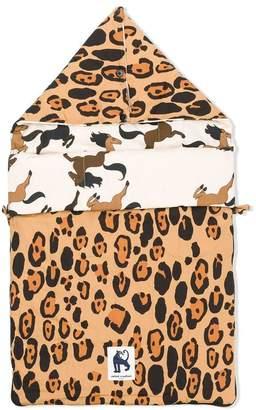 Mini Rodini leopard print baby nest