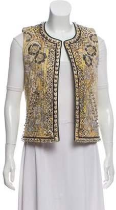 Isabel Marant Studded Embroidered Vest