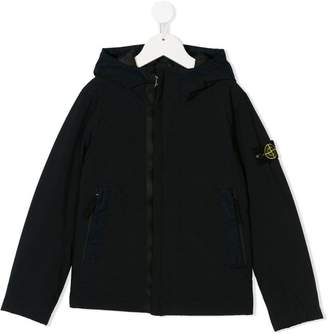 Stone Island Junior hooded parka jacket
