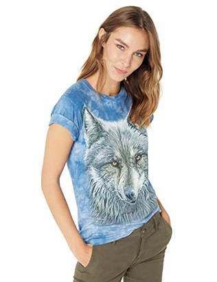 The Mountain Warrior Wolf Adult Woman's T-Shirt