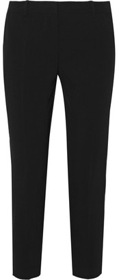 DKNY - Cropped Twill Tapered Pants - Black $295 thestylecure.com