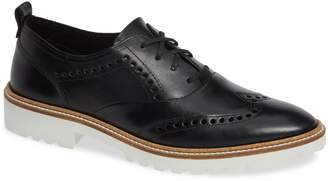 Ecco Incise Tailored Wingtip Oxford