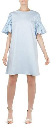 Ted Baker Faatima Smock-Sleeve Tunic Dress
