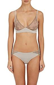 Skin Women's Gracen Soft Bra - Gray Mist
