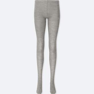 Uniqlo Women's Heattech Knitted Ribbed Tights
