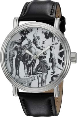 EWatchFactory Men's 'Animal Planet' Quartz Metal Sport Watch, Color: (Model: WDC000032)