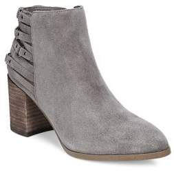 Fergie Boston Multi-Strap Suede Booties