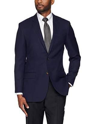 Buttoned Down Men's Tailored Fit Super 110 Italian Wool Hopsack Blazer