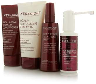 As Seen on TV Keranique Hair Regrowth System with Deep Hydration - 30-Day