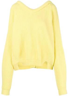 Cavallini Erika rear buttoned sweater