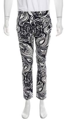 Trina Turk Printed Skinny Pants