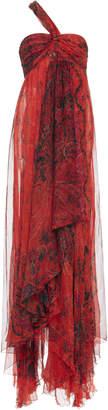 Etro One Shoulder Dress