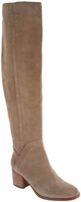 Marc Fisher Wide Calf Suede Over-the-Knee Boots - Elanie