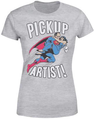DC Originals Superman Pickup Artist Women's T-Shirt - Grey