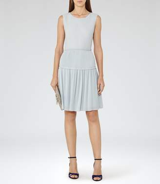 Reiss Justyna Plisse Skirt Dress