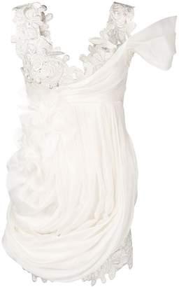 Ermanno Scervino floral pattern short dress