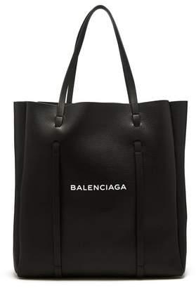 Balenciaga Everyday Tote M - Womens - Black White