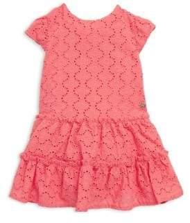 Lili Gaufrette Baby's Sorbet Crocheted Dress
