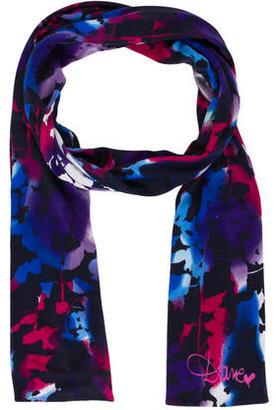 Diane von Furstenberg Floral Woven Scarf $65 thestylecure.com