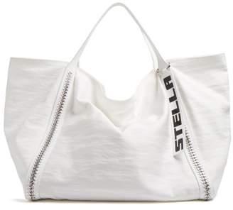 Stella McCartney Falabella Go Oversized Tote Bag - Womens - White