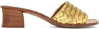 Bottega Veneta Intrecciato leather mules