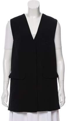 Alexander Wang Long-line Surplice Neck Vest