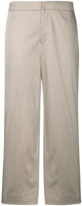 Pt01 cropped straight leg trousers