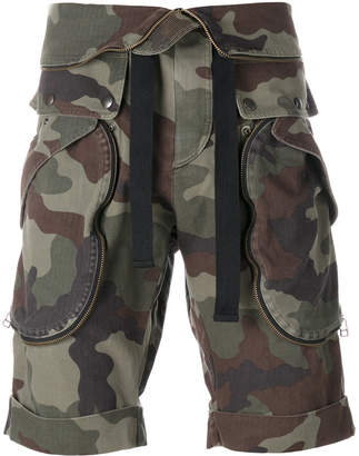 Faith Connexion camouflage bermuda shorts