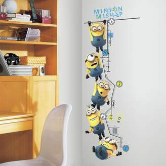 Roommates Despicable Me 2 Growth Chart Peel & Stick Wall Decals