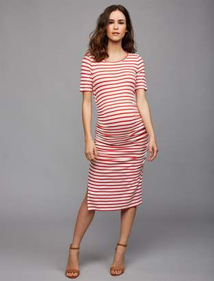 2d24e11358d3a Isabella Oliver Pea Collection Nia Maternity Dress